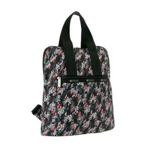 LeSportsac Classic Collection Everyday Backpack in Tweedy Black NWT