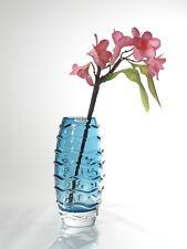 Time Tree Royal Blue Color Handmade Decorative Turkish Glass Vase Height 24cm