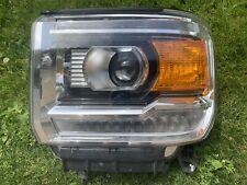 2014-2019 GMC Sierra 1500,2500,3500 Left LH LED Headlight OEM 23268190