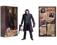 NECA 7'' inch Heath Ledger DC Comics Batman Dark Knight Joker Action Figure Toy