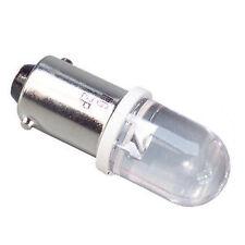 2 LAMPADINE DI POSIZIONE SUPER JUMBO LED 6000K H6W T4W BA9S BA9XS T10 W5W T5 C5W