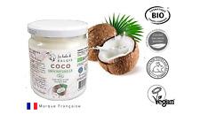 Huile de Coco Bio Pure et Vierge 100% Naturelle Soin Cheveux Peau Visage 500ml