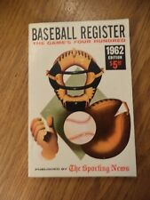 1962 SPORTING NEWS BASEBALL REGISTER THE GAMES 400 STAN MUSIAL PICTURES