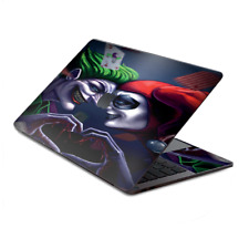 "Skin Decal Wrap for MacBook Pro 13"" Retina Touch  Harleyquin and Joke love"
