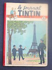 TINTIN album éditeur n°5 Edition belge (n°6 à 22 de 1948). TBE