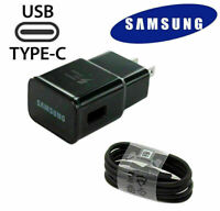 Samsung Wall Charger and Type-C Cable for Samsung Galaxy S8 S9 S10