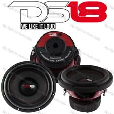 "DS18 GEN X104D 10"" Car Subwoofer 800W Max Dual 4 Ohm 10 inch Bass Sub-woofer"