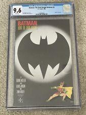 Batman: The Dark Knight Returns #3 CGC 9.6 WP NM  DC 1986  Frank Miller