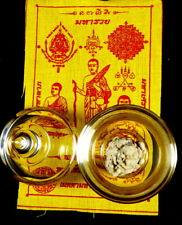 RELICS OF SIVALI BUDDHA DISCIPLE SARIRA PHRA TATH RELIC 3 INCH STUPA
