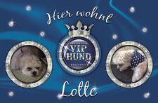 Fußmatte VIP Hund Katze Haustür Bild Namen persönlich individuell Türvorleger