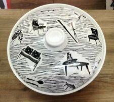 Lovely Very Rare Ridgway Potteries Homemaker Black and White Tureen SU649