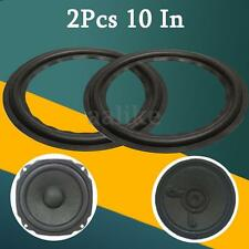 2x 10'' Stereo Woofer Bass Loudspeaker/ Speaker Part Rubber Surround Repair Foam