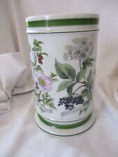 Kaiser W Germany green botanical porcelain kitchen utensil jar 486/25