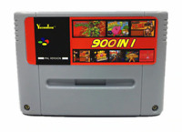 Super 900 in 1 for Nintendo SNES Game cartridge Multicart Colection - EU PAL