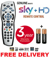 NEW SKY PLUS HD BOX REMOTE CONTROL 2019 REV 9f REPLACEMENT + BATTERIES