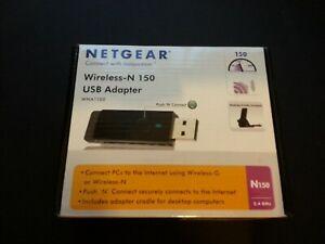 Netgear Wireless N 150 USB Adapter   (BRAND NEW BOXED - UNUSED!!)