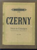 """CZERNY - """" Schule der Geläufigkeit """"  Opus 299 ~ gebunden"""