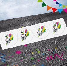 Rainbow Roller Skate Pegatinas (paquete de 12) Fiesta/Goody Bolsa Rellenos Chicas Chicos