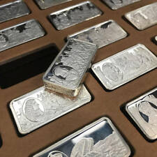 """The """"1000 Years of British Monarchy"""" Sterling Silver Ingots by Wellington Mint"""