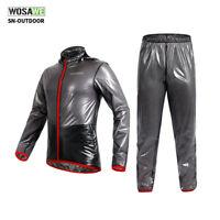 Men's Cycling Jackets Waterproof Bike Rain Coats MTB Bicycle Sports Suit S-XXL