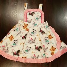 Rock Your Baby Kid RYB - Kitten Dress - Size 5 (4 IMO) - Vintage Rare