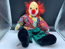 Sigikid Stofftier Sammler Clown Puppe 52 cm. Top Zustand