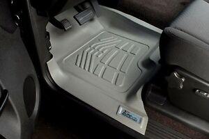 Front Sure-Fit Floor Mats for a 2016-2020 Nissan Titan / Titan XD