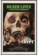 Tales From The Crypt - Peter Cushing - Amicus - A4 Laminated Mini Movie Poster