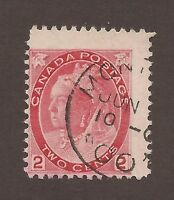 CANADA #77 USED MISS-PERF