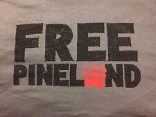 Pineland T-shirt Grey w/ FREE PINELAND Slogan on Front Robin Sage PRF NEW Large