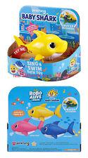 YELLOW BABY - ROBO ALIVE - PINKFONG SWIM & SING SHARK - MADE BY ZURU - AUTHENTIC