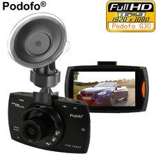 PODOFO 1080P FULL HD DOUBLE CAMÉRA DE VOITURE DASHCAM ENREGISTREURS DE CONDUITE