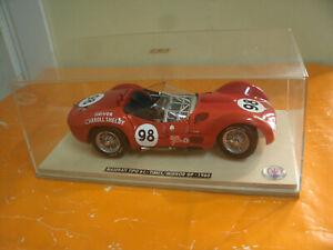 Rare Model Car Minichamps MASERATI TIPO 61-TIMES/MIRROR GP - 1960 + Box 1/18