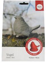 Rayher Latex-Gießform Vogel für Beton oder Raysin