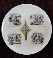 Vintage Black Americana Memorabilia Baseball Melamine Plate RARE