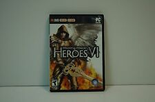 Computer PC DVD Rom MIGHT & MAGIC HEROES VI 6 Complete in Case
