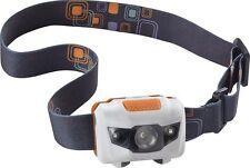 New! Insignia - LED Headlamp - White/Gray/Orange (60 Lumen)