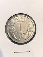 France 1 Franc 1959 UNC, 7/17/17