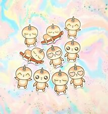 30 Pack Paper Kawaii Uni-Sloth Stickers