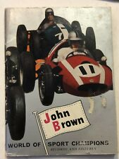 VINTAGE JOHN BROWN WORLD OF SPORT CHAMPIONS BOOKLET CIRCA 1961 BY YARRA FALLS WO