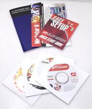 ATI 151-V01200 Zubehör Treiber CD Software Handbücher All-In-Wonder X800XL NEU