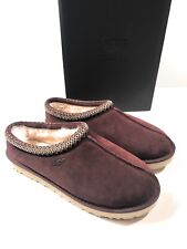 UGG Tasman Moccasin Slippers Mens Size 13 Burgundy New