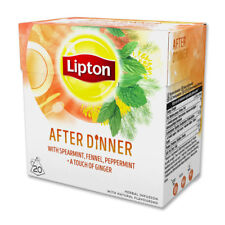 Lipton After Dinner 4 Boxes Of 20 (80) Free UK Delivery