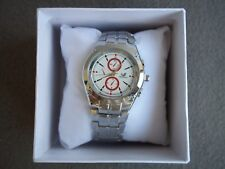 Quartz Watch Luxury Brand ORLANDO Silver Stainless Steel