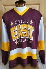 Minnesota Metro East Stars High School Nor-Tex XL X-Large Hockey Jersey #6