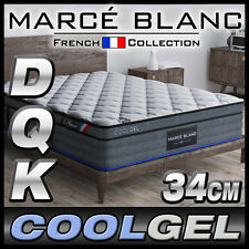 Queen King Double Mattress Size - CoolGEL Memory - Pocket Spring - 34cm