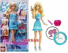 Barbie Loves Makeup Fashion Doll Gift set Accessories 2009 R6600 NEW