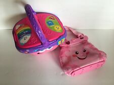 Fisher Price Leap Frog Laugh & Learn Learning Purse & Shape Share Picnic Basket