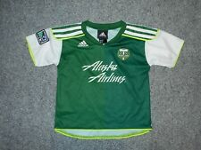 ADIDAS MLS PORTLAND TIMBERS TODDLER 4T SOCCER JERSEY
