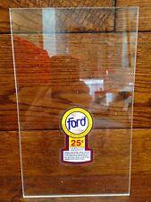 4 FOUR Rare Ford Franchise Clear Panels Oak Vista Eagle Astro vending machine